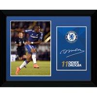 Chelsea 2014/15 Drogba Framed Print - 16 x 12 Inch