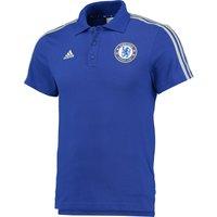 Chelsea Core 3 Stripe Polo Blue
