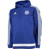 Chelsea Training Hooded Sweatshirt Blue