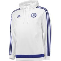 Chelsea Training Hooded Sweatshirt White