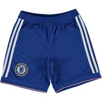 Chelsea Home Shorts 2015/16 - Kids Blue
