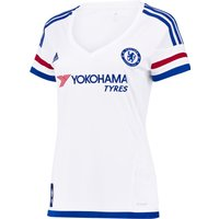 Chelsea Away Shirt 2015/16 - Womens White