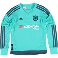 Chelsea Goalkeeper Shirt 2015/16 - Kids Green