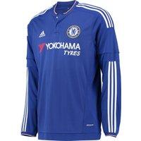 Chelsea Home Shirt 2015/16 - Long Sleeve - Kids Blue