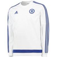 Chelsea Training Sweatshirt White
