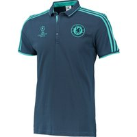 Chelsea Ucl Training Polo Blue