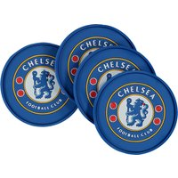 Chelsea Rubber Coaster Set - 4 Pack