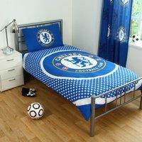 Chelsea Crest Duvet Cover Set - Single