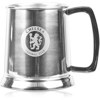 Chelsea Pint Tankard - Stainless Steel with Glass Base