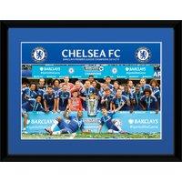 Chelsea 2014/15 Premier League Winners Celebration Framed Print - 8 x 6 Inch