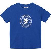 Chelsea Circle Crest T-Shirt - Blue - Infant Boys