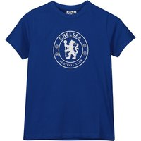 Chelsea Circle Crest T-Shirt - Blue - Older Boys