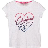 Chelsea Speckle Print T-Shirt - White - Infant Girls