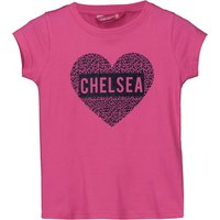 Chelsea Glitter Print T-Shirt - Pink - Older Girls