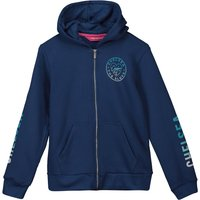 Chelsea Gradient Printed Arm Detail Hoodie - Blue - Older Girls