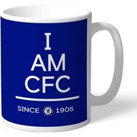 Chelsea Personalised I am CFC Mug