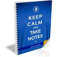 Chelsea Personalised Keep Calm Notebook