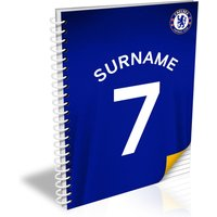 Chelsea Personalised Shirt Notebook