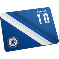 Chelsea Personalised Stripe Mouse Mat