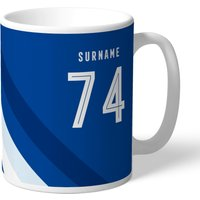 Chelsea Personalised Stripe Mug