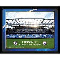 Chelsea Stamford Bridge Print - 8 x 6 Inch