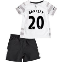 Everton Away Baby Kit 2015/16 with Barkley 20 printing
