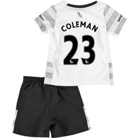 Everton Away Baby Kit 2015/16 with Coleman 23 printing