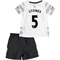 Everton Away Baby Kit 2015/16 with Stones 5 printing