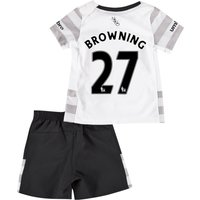 Everton Away Baby Kit 2015/16 with Browning 36 printing