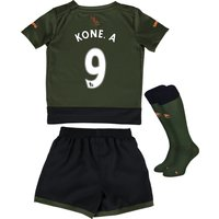 Everton Third Baby Kit 2015/16  with Kone.A 9 printing