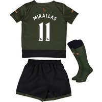 Everton Third Baby Kit 2015/16  with Mirallas 11 printing