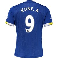 Everton Home Baby Kit 2016/17 with Kone.A 9 printing