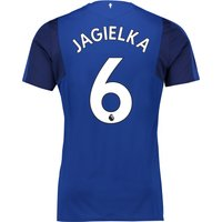 Everton Home Shirt 2017/18 - Junior with Jagielka 6 printing