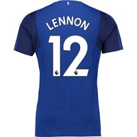 Everton Home Shirt 2017/18 - Junior with Lennon 12 printing