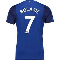 Everton Home Shirt 2017/18 - Junior with Bolasie 7 printing