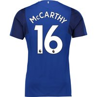 Everton Home Shirt 2017/18 - Junior with McCarthy 16 printing