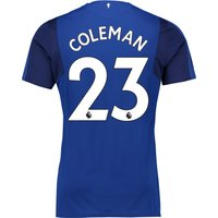Everton Home Shirt 2017/18 - Junior with Coleman 23 printing