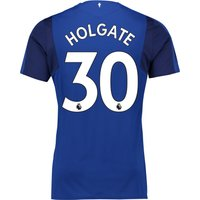 Everton Home Shirt 2017/18 - Junior with Holgate 30 printing