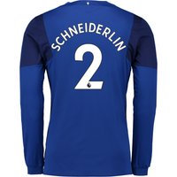 Everton Home Shirt 2017/18 - Junior - Long Sleeved with Schneiderlin 2 printing