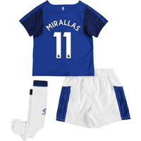 Everton Home Infant Kit 2017/18 with Mirallas 11 printing