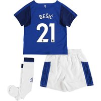 Everton Home Infant Kit 2017/18 with Bešic 21 printing