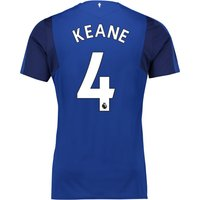 Everton Home Shirt 2017/18 - Junior with Keane 4 printing