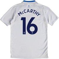 Everton Away Shirt 2017/18 - Junior with McCarthy 16 printing