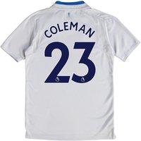 Everton Away Shirt 2017/18 - Junior with Coleman 23 printing
