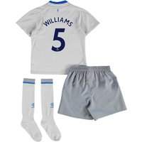 Everton Away Infant Kit 2017/18 with Williams 5 printing