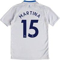 Everton Away Shirt 2017/18 - Junior with Martina 15 printing