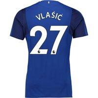 Everton Home Shirt 2017/18 - Junior with Vlašic 27 printing