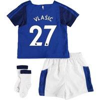 Everton Home Baby Kit 2017/18 with Vlašic 27 printing