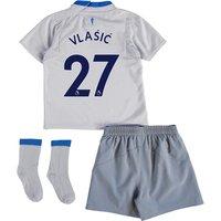 Everton Away Baby Kit 2017/18 with Vlašic 27 printing