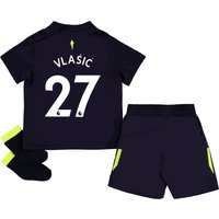 Everton 3rd Baby Kit 2017/18 with Vlašic 27 printing
